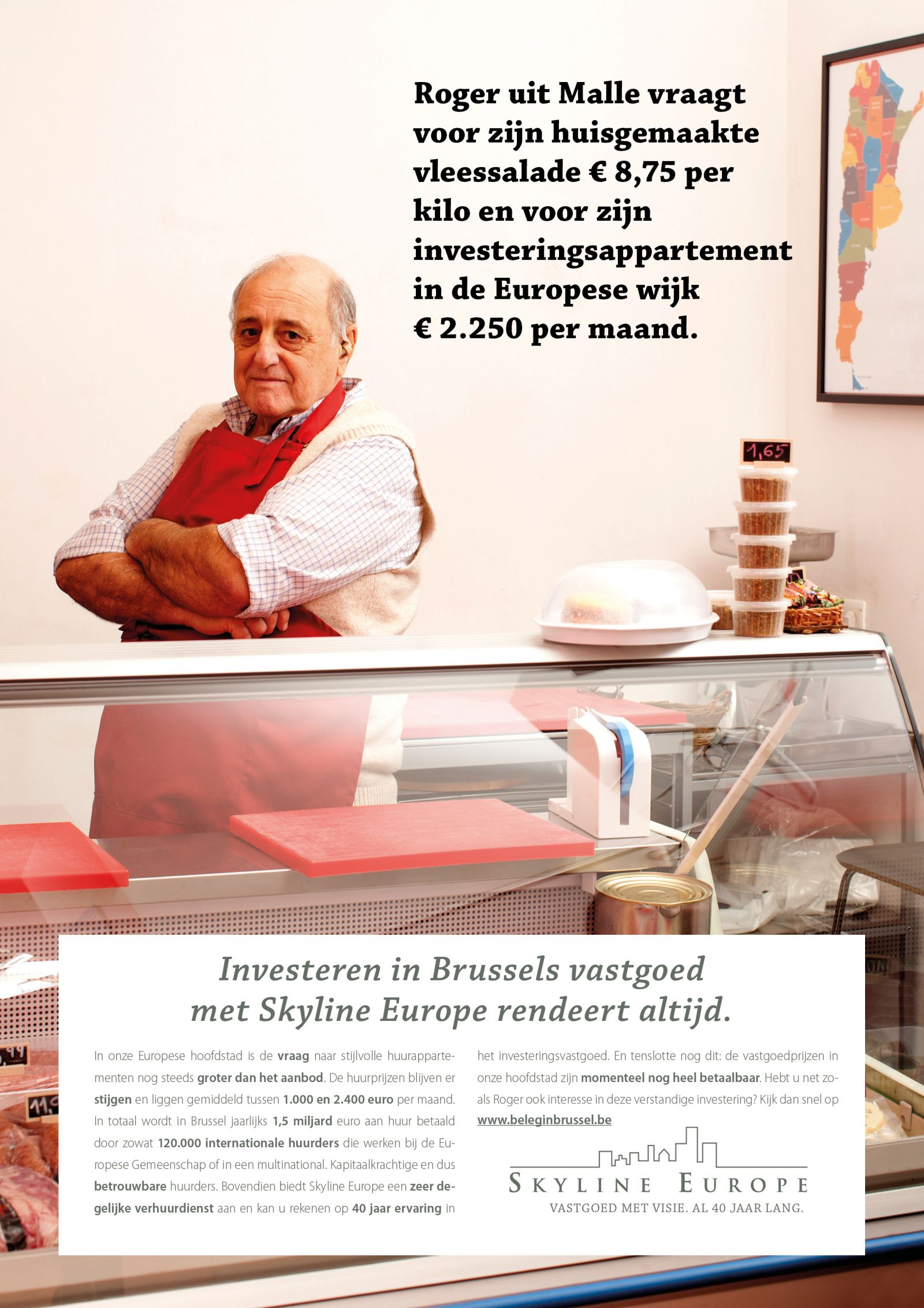 Skyline Europe Zomercampagne Roger